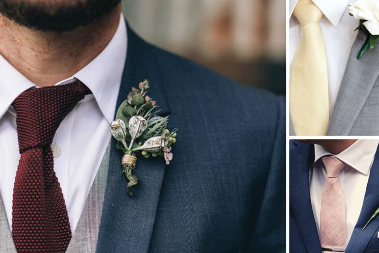 Tipos de gravata para o noivo