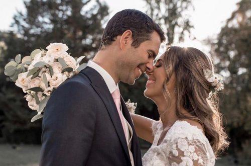 Bárbara Corby e Douglas já casaram